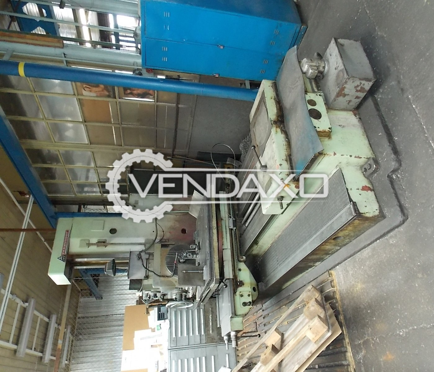 TOS W9A Table Type Boring Machine - Table Size : 1800 x 1120 mm
