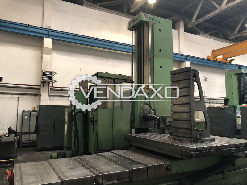 TOS WHN 13.8 CNC Table Type Boring Machine - Table Size : 1800 x 1600 mm