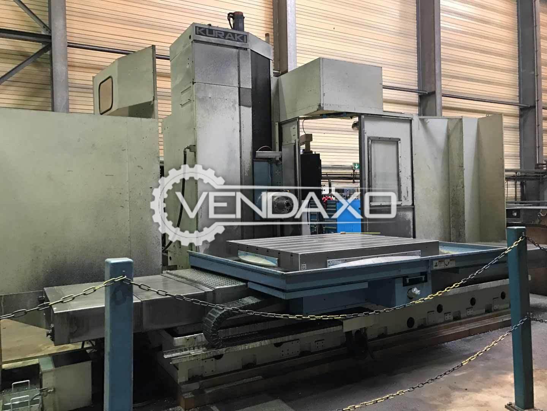 Kuraki KBT-13 DX CNC Table Type Boring Machine - Table Size : 1600 x 1800 mm