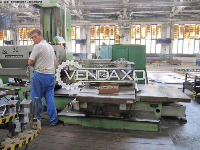 TOS WH 10NC CNC Table Type Boring Machine - Table Size : 1000 x 1120 mm
