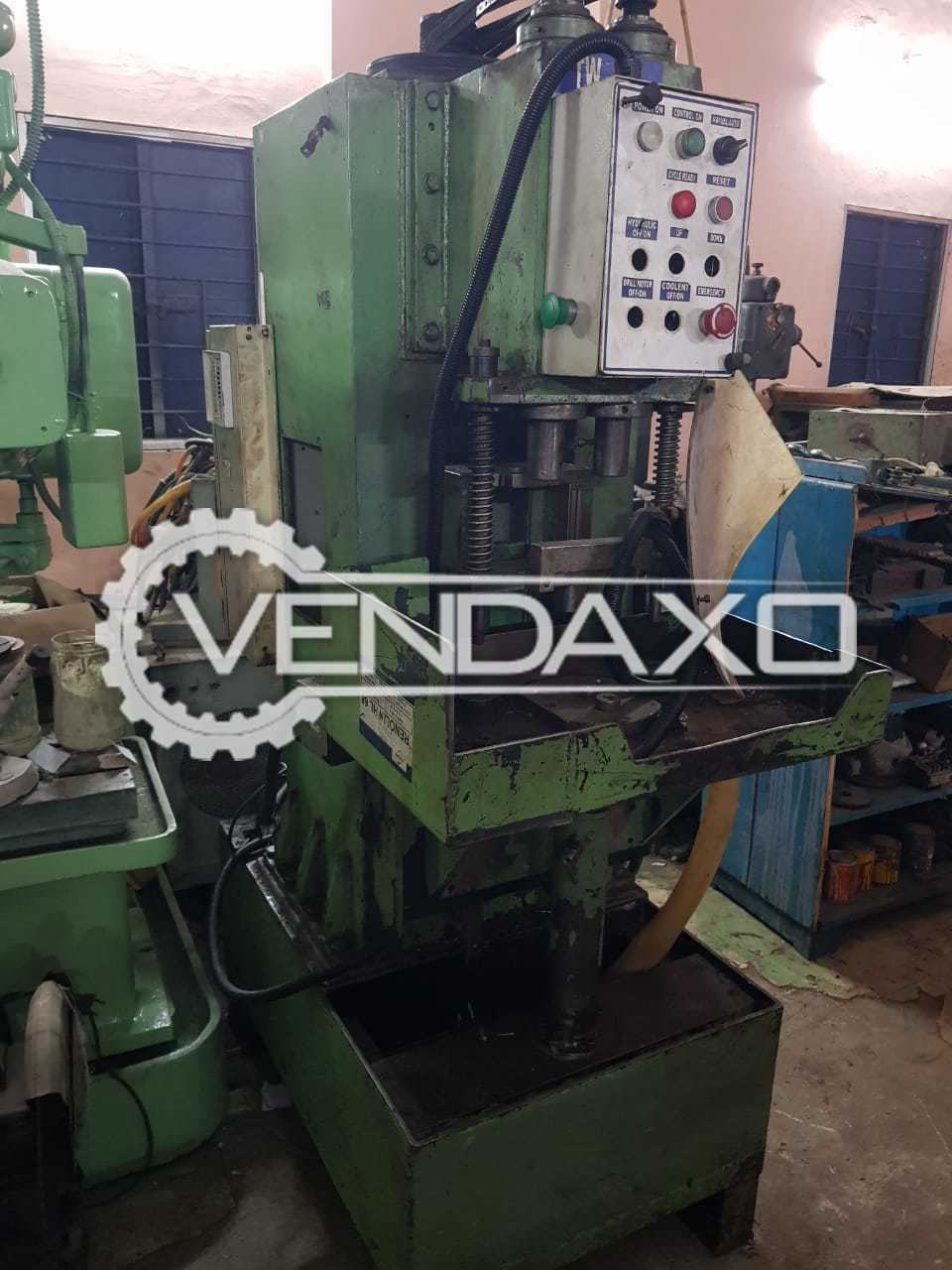 Indian Make Hydraulic Moment Drilling Machine : Capacity : 1 Inch, 2 Spindle
