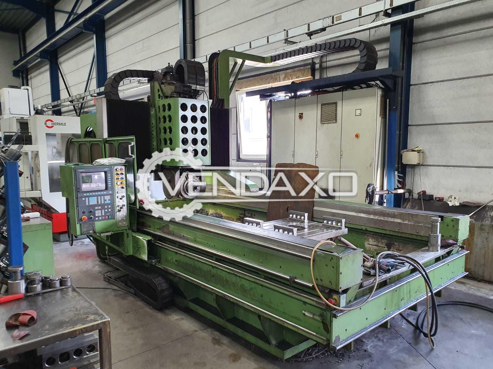 Indian Make CNC Plano Miller Machine - 1250mm x 3000mm