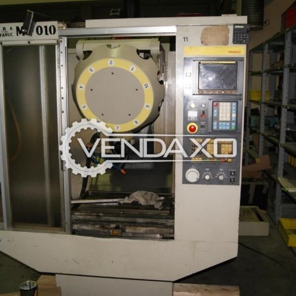 Stama MC 010 CNC Vertical Machining Center-VMC - Table Size : 650 x 380 mm