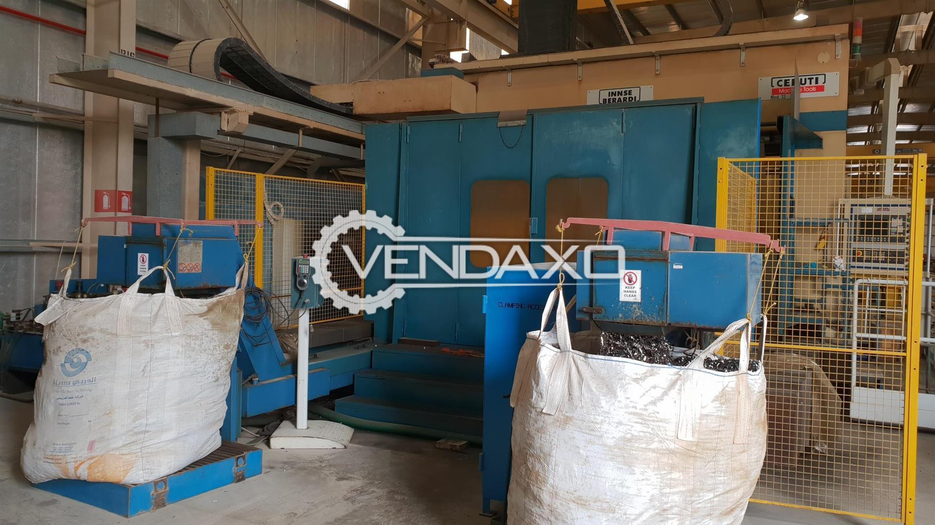 Innse Berardi Ceruti 33-14000 CNC Gantry Type Milling Machine - Table Size : 14000 x 3000 mm