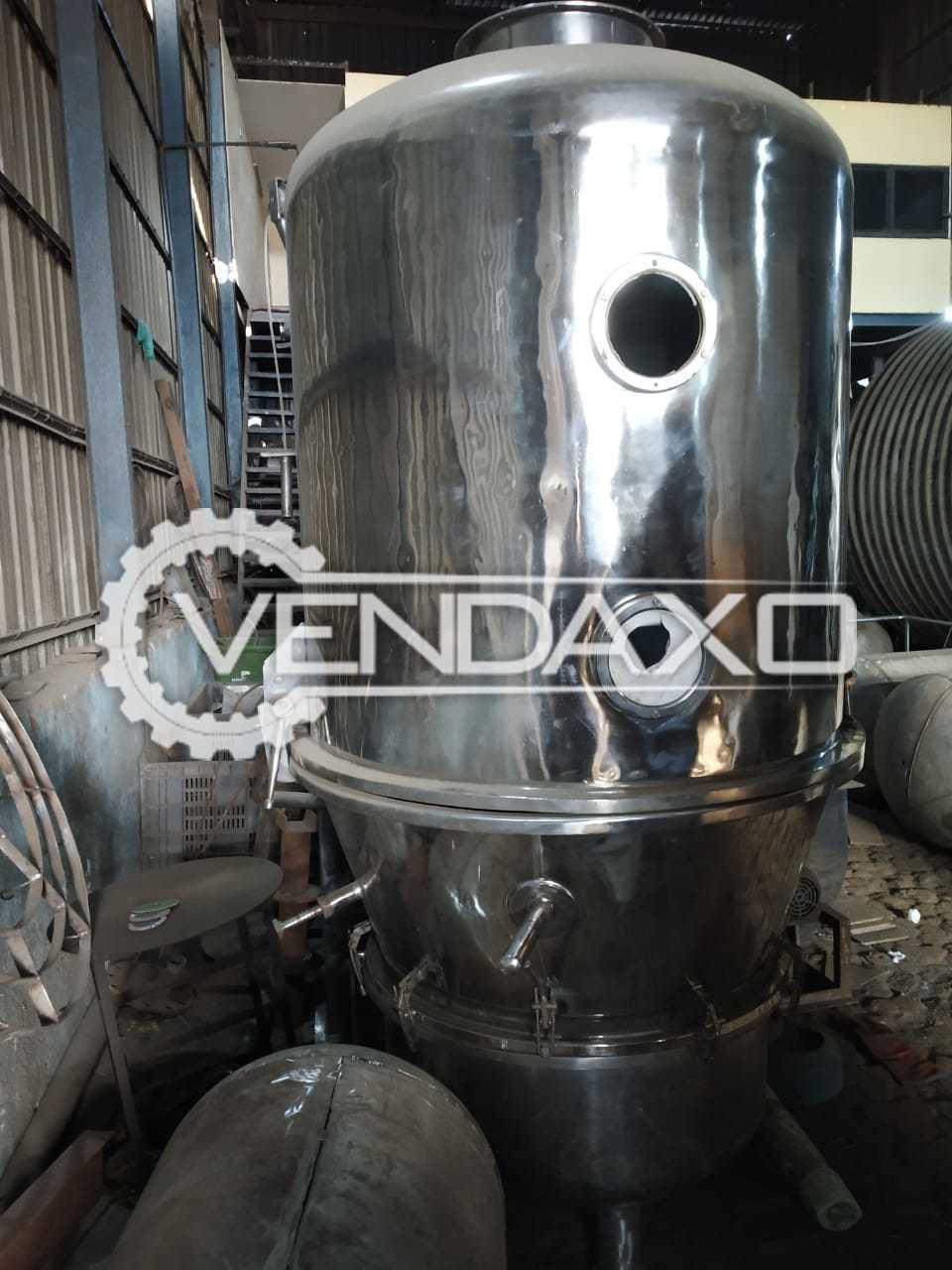 Fluid Bed Dryer (FBD) - 150 Kg
