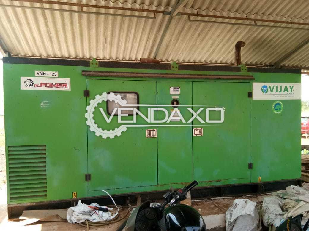 Mahindra VMN - 125 Diesel Generator - 125 kVA, 2014 Model