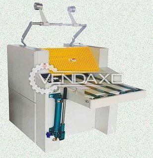 High Speed 520A Hydraulic Thermal Laminator Machine - Size - 20 Inch
