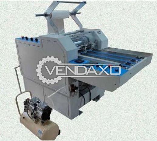 Heavy Duty Pneumatic High Speed 390 Auto Thermal Laminator Machine - 15 Inch