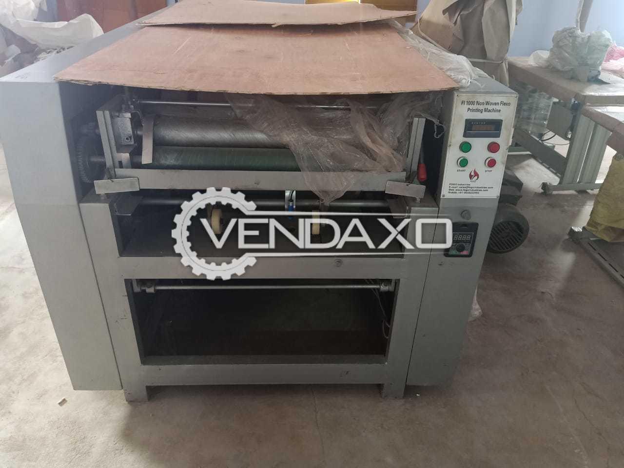 ABB CHKV Non Woven Flexographic Drum Printing Machine - 2017 Model