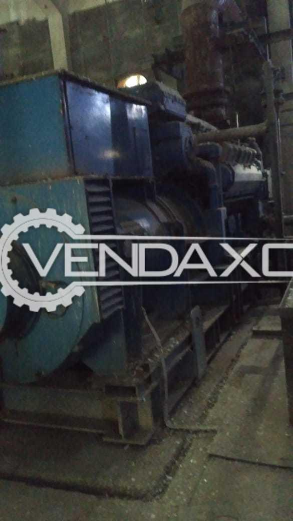 2 Set OF France Make Diesel Generator - 2875 Kva