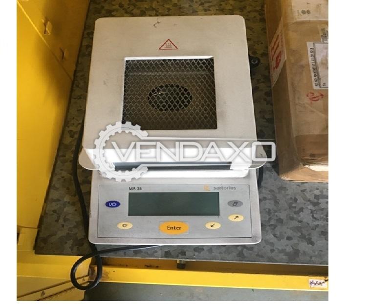 Sartarious MA35M 000250V1 Infrared Moisture Analyzer - 2016 Model