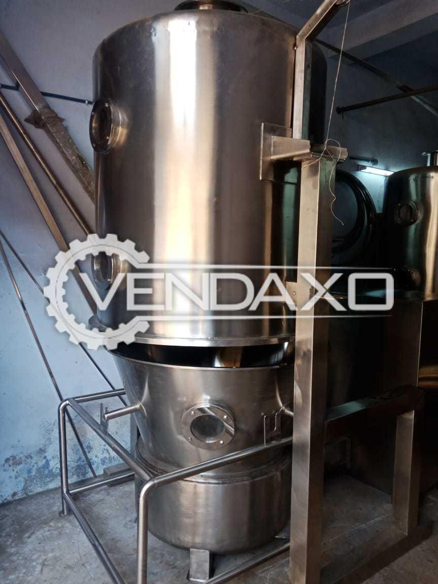 Fluid Bed Dryer (FBD) - 120 Kg