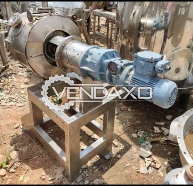 Agitated Vacuum Dryer (AVD) - 25 Liter
