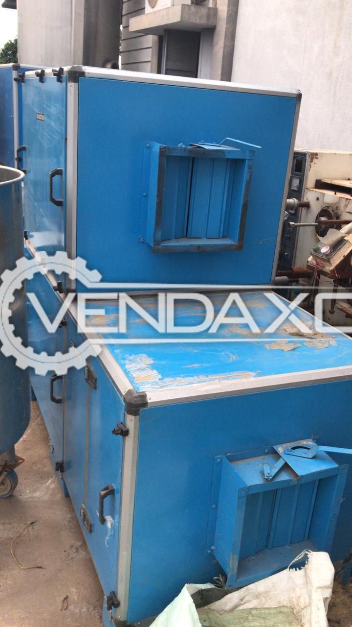 Air Handling Unit (AHU) Backward Blower - 2000 Cfm