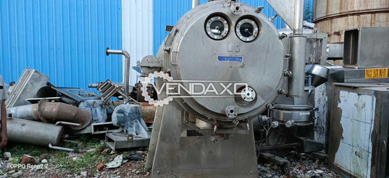 HL Make Vacuum Paddle Dryer - 1000 Liter