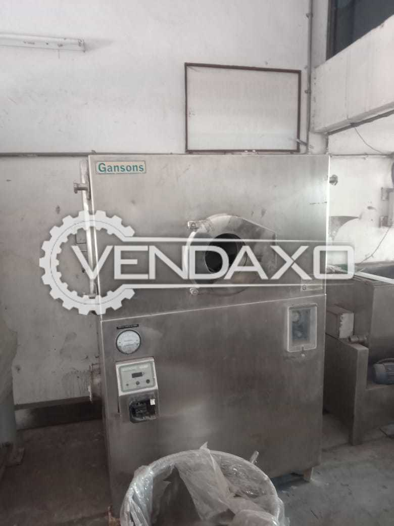 Gansons Make Auto Coater Machine - 36 Inch
