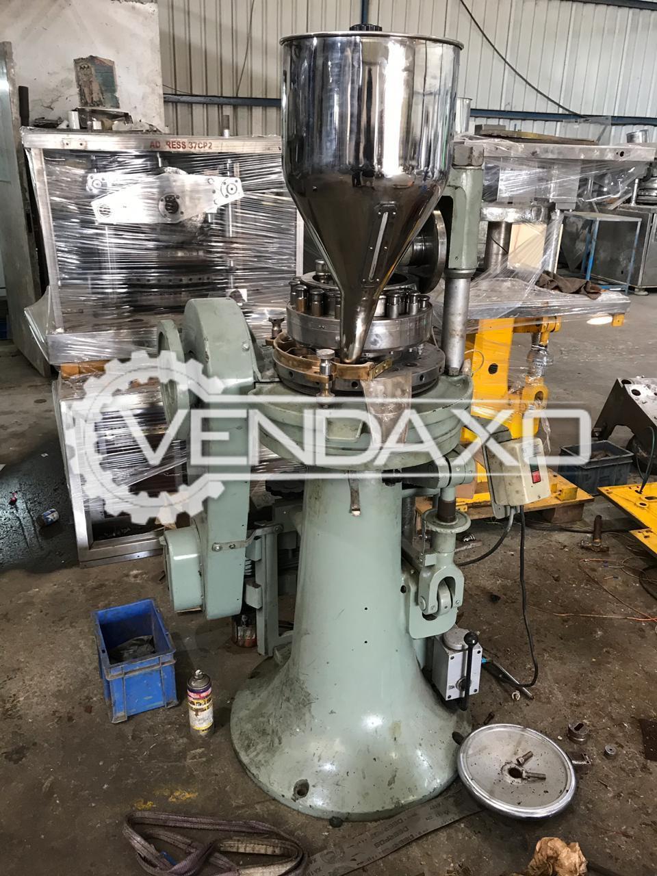 Indian Make Pharma Tablet Press Machine - 16 Station