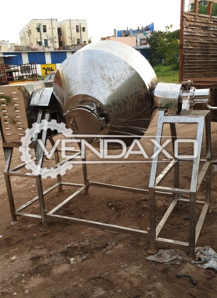 Double Cone Vacuum Dryer (DCVD) - Capacity : 500 Liters