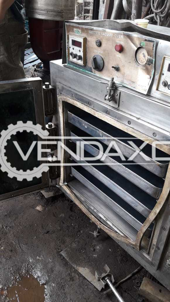 Indian Make Vacuum Tray Dryer - 4 Tray