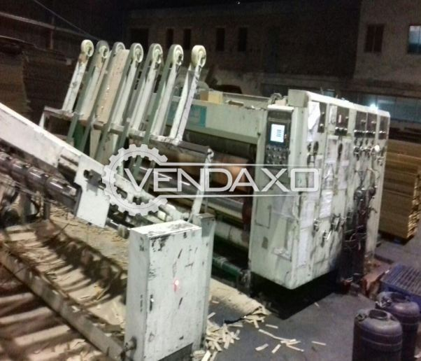 Available For Sale High Speed Folding Gluer, Air Compressor, Zhongshan Huatong Packaging Machine
