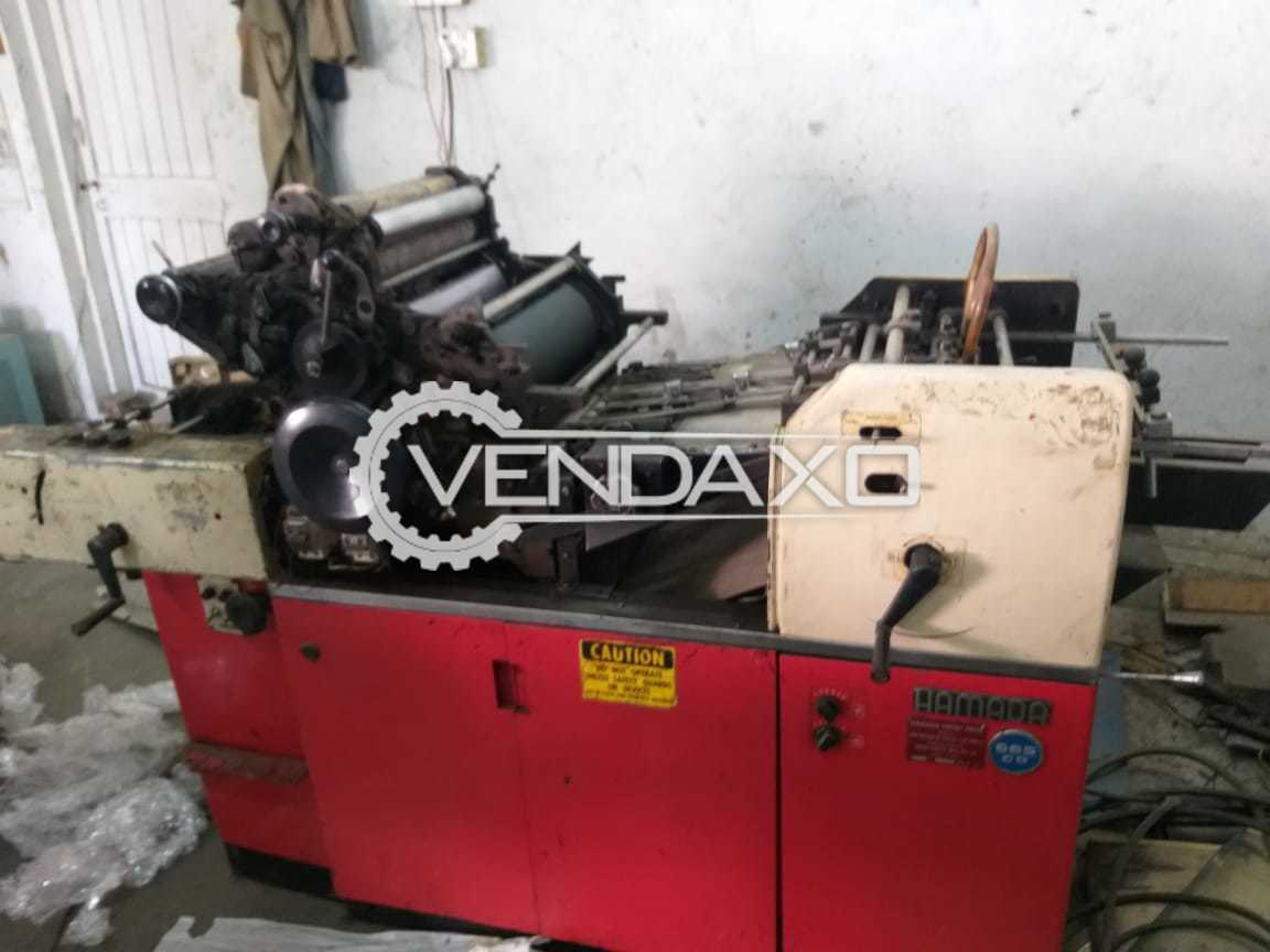 Used Hamada Mini Offset Printing Machine 10 X 15 Inch Single Color For Sale At Best Prices Vendaxo