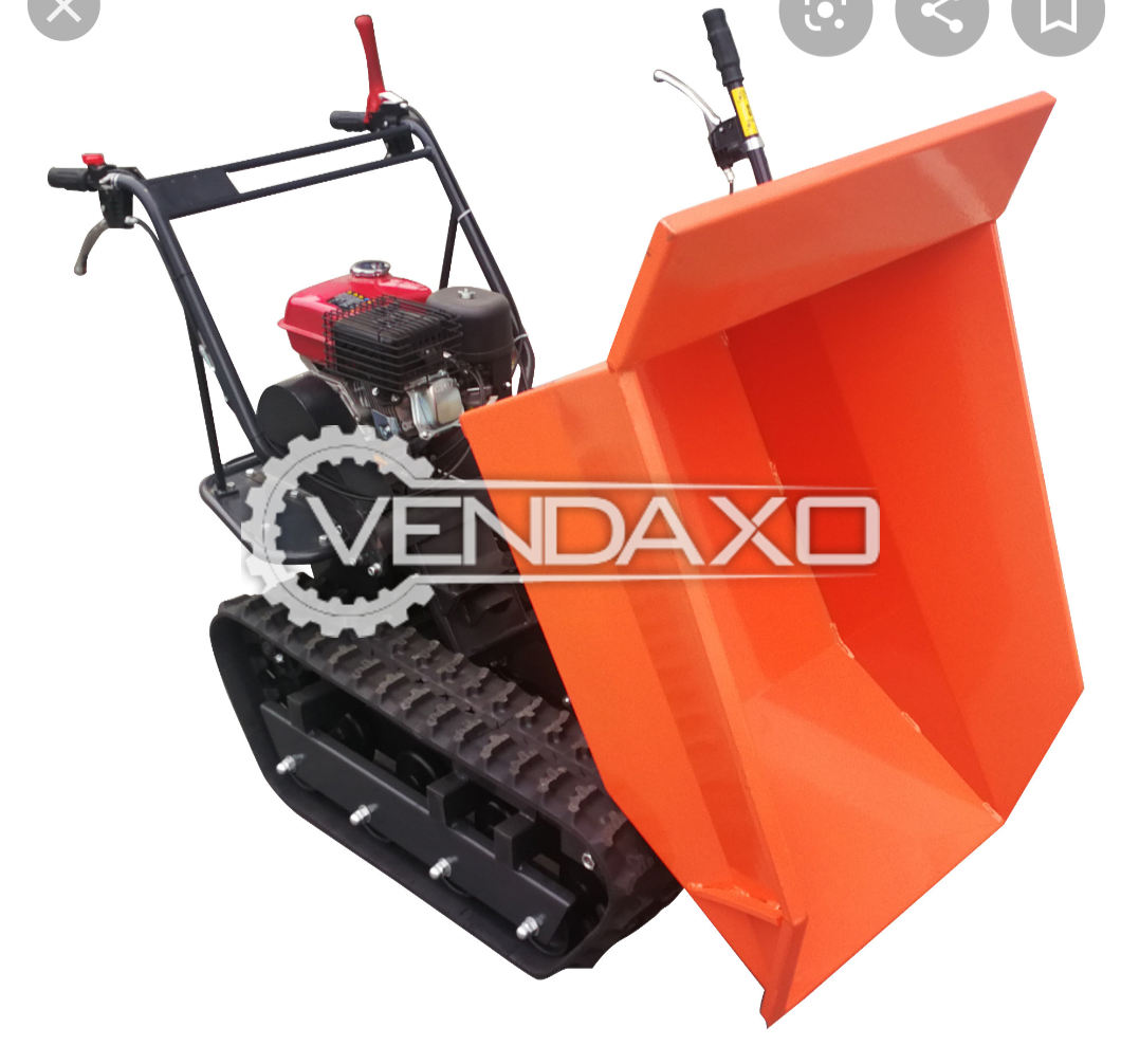 Zonten China Make Terrain Tracked Mini Dumper - 300 KG