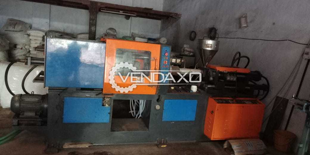 Injection Moulding Machine - 100 gm Without PLC
