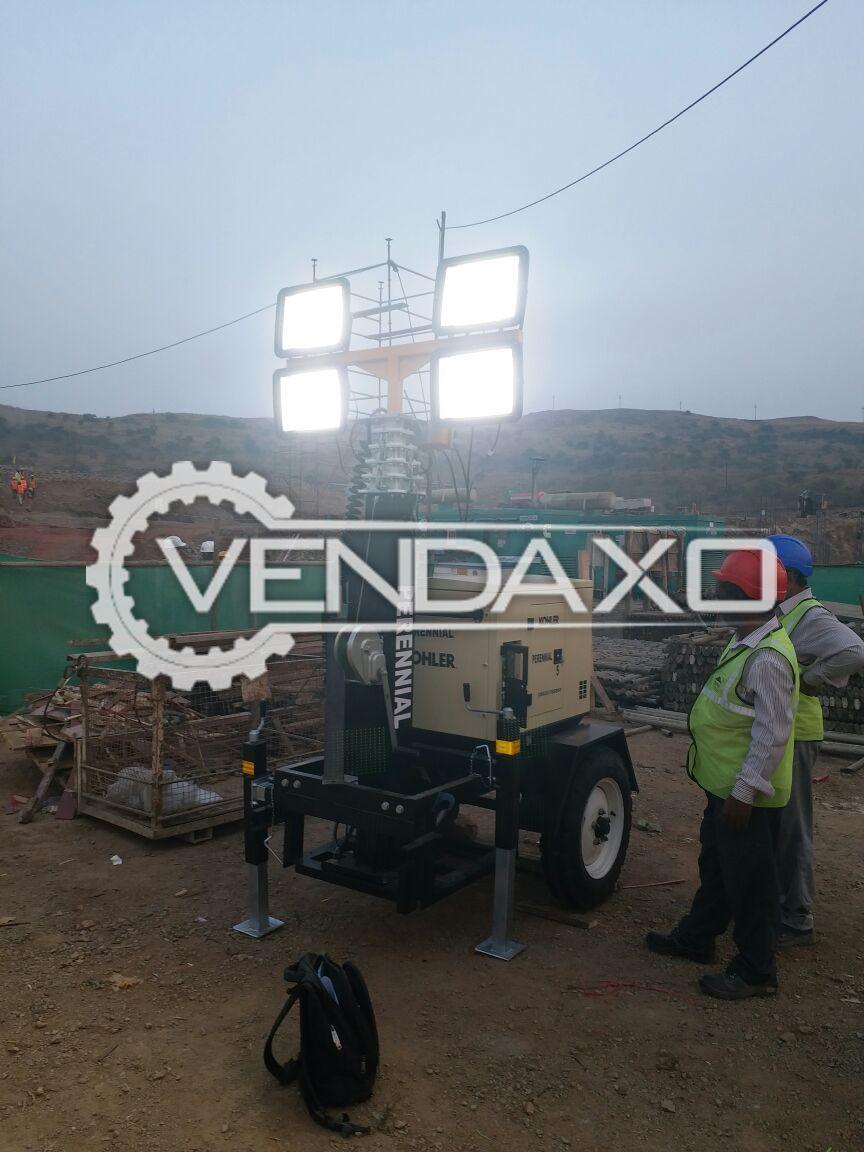 Kohler Make Refurbished Mobile Lighting Tower - 5 Kva, 2014 Model