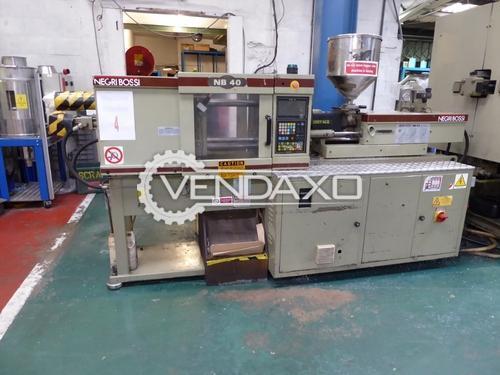 Negri Bossi NB-40 Plastic Injection Molding Machine - 40 Ton