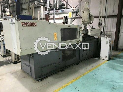 Nissei FN3000 Injection Moulding Machine - 80 Ton