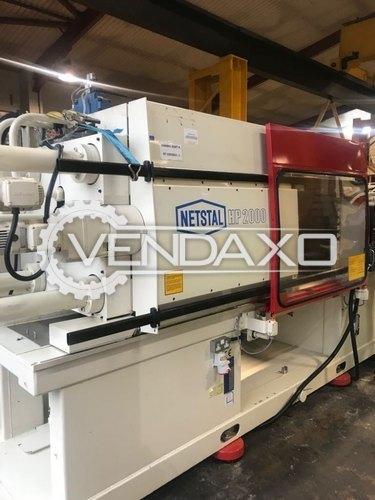 Netstal HP 2000 Injection Moulding Machine - 200 Ton