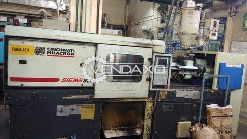 Cincinnati Milacron Sigma 80 Injection Molding Machine - 80 Ton