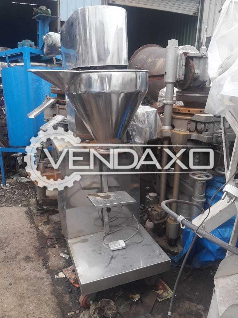 Auger Filling Machine - 1 KG, GMP Model