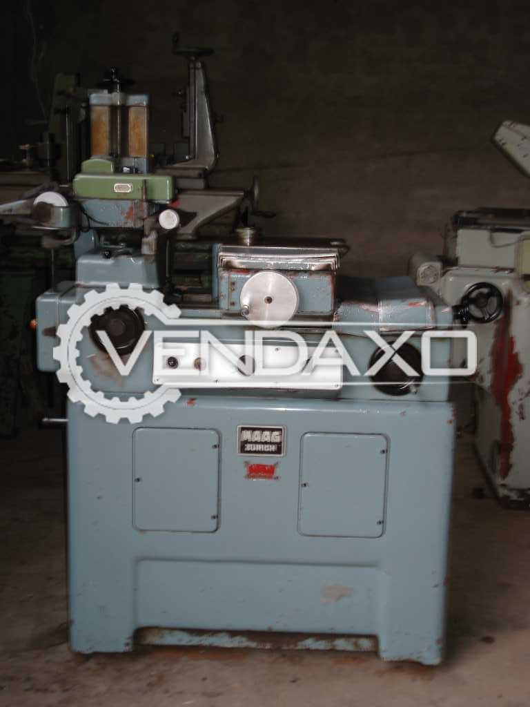Maag PH 6 Gear Tester Machine - Max.Wheel Diameter : 200 mm