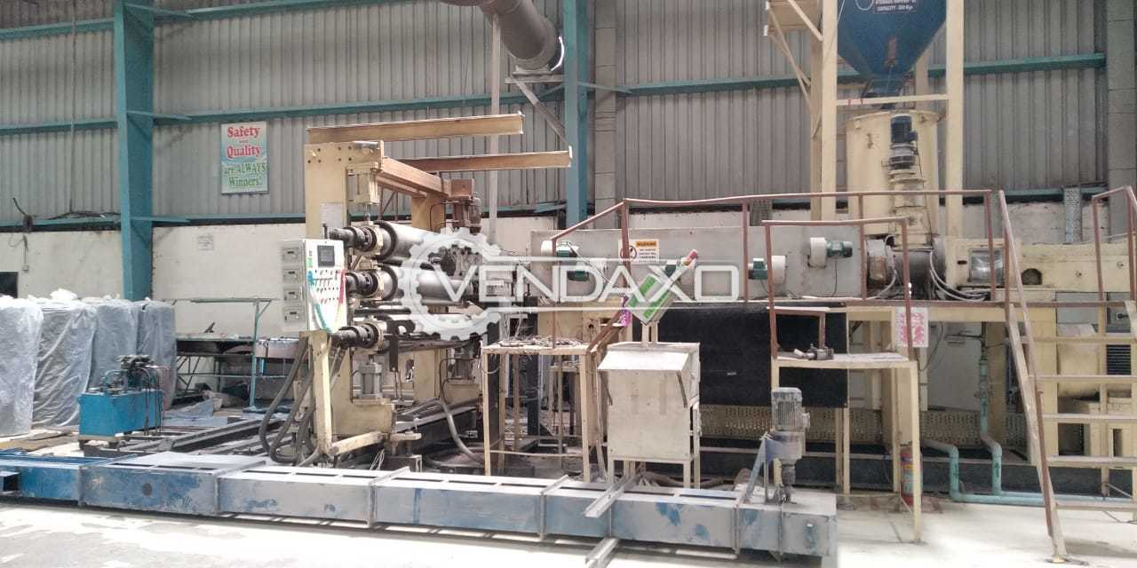 Available For Sale WPC Sheet Line Twin Screw Extruder Machine - 1700 mm