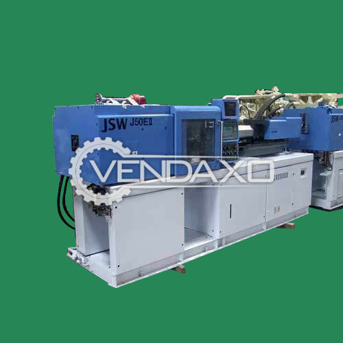 JSW J50EII Injection Moulding Machine - 50 Ton