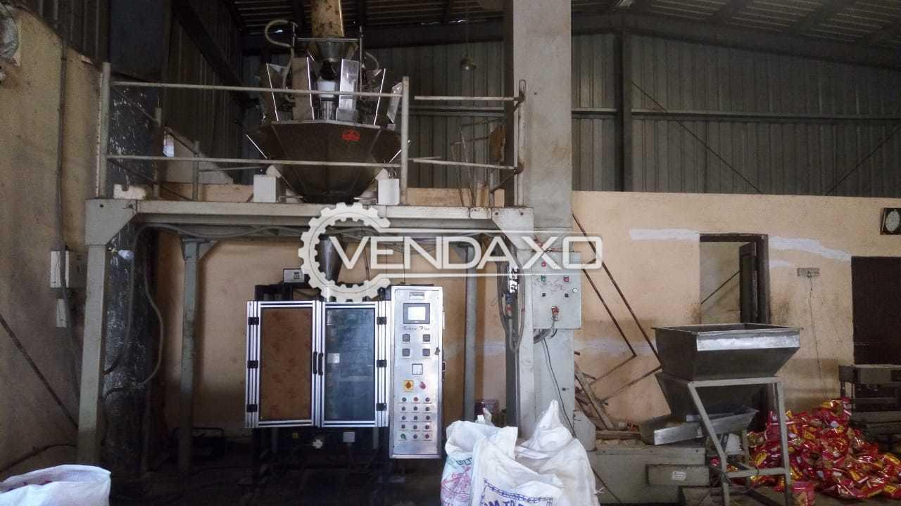 Technoflex VFFS-MH40 Namkeen Packing Machine - 40 to 50 Per Minute