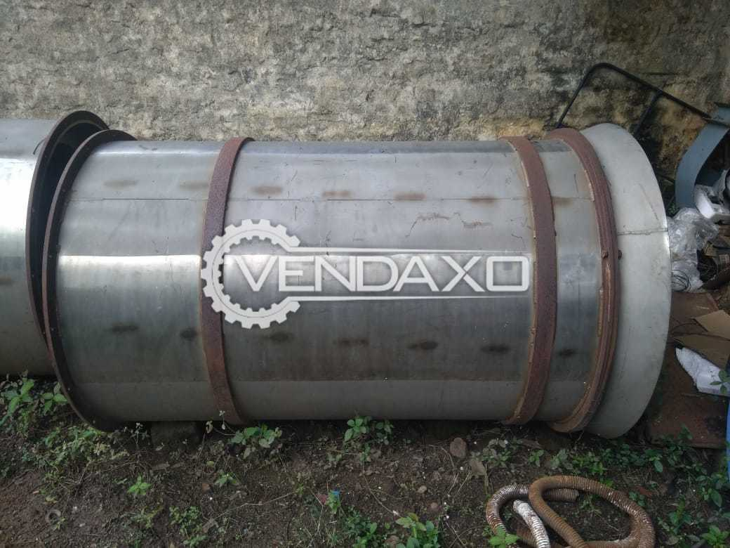 2 Set OF SS 304 Fabricated Tubes - Diameter - 1000 X Length - 1500 mm