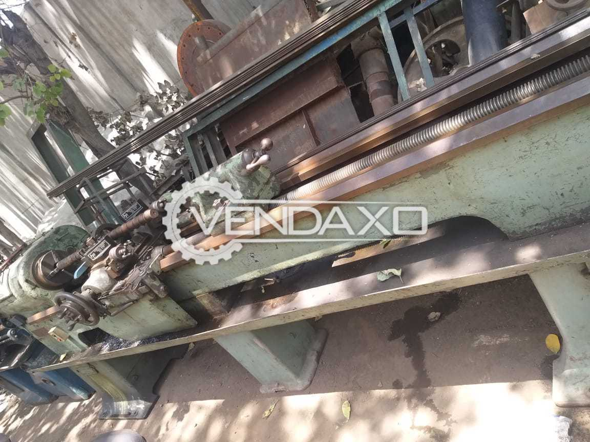 Indian Make All Threading Cutting Lathe Machine - Between Center : 2500 mm