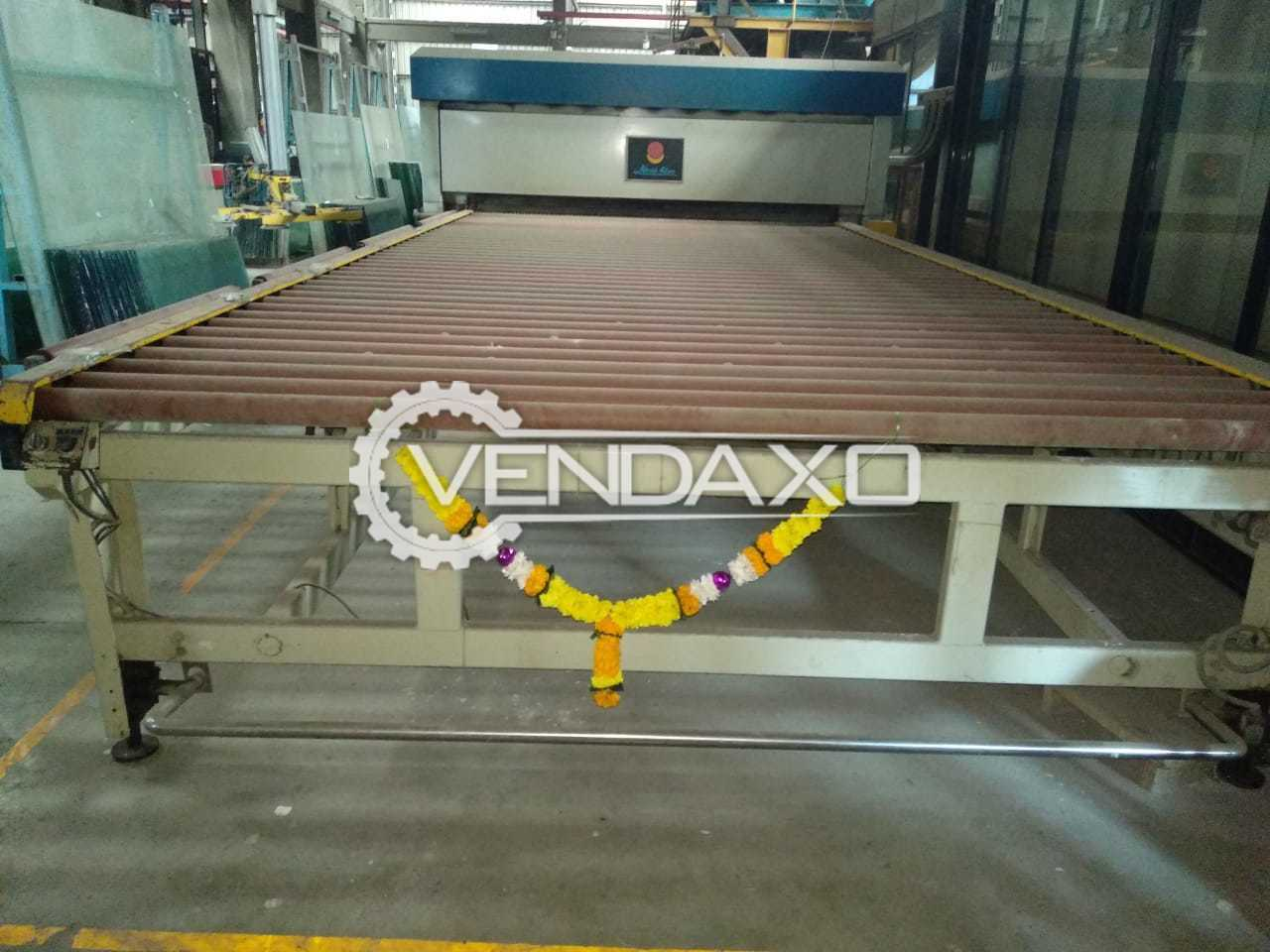 Available For Sale Glass Tempering Plant - Length - 16 Feet