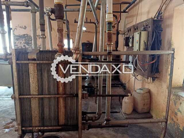 Alpha Make Pasteuriser Milk Plant - 5000 Liter