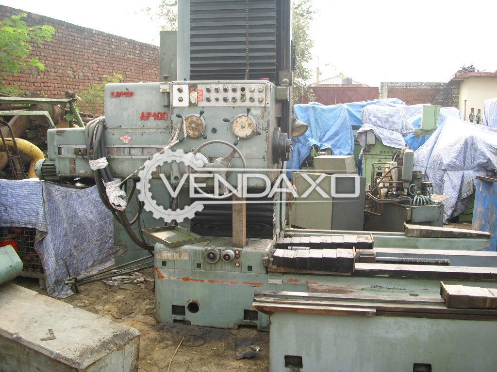 Scrocco Make Horizontal Boring Machine - Model AP 100