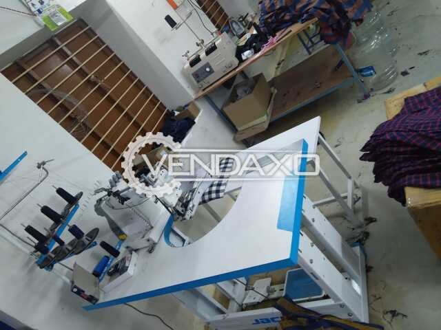 Available For Sale Garment Machinery Setup