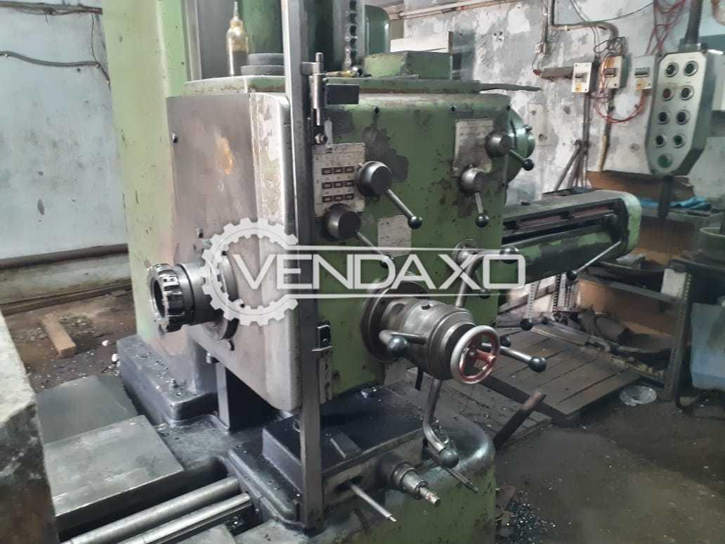 Wotan B 85 Boring Machine - Spindle Diameter : 85mm