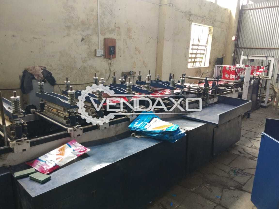 Zipper Standy Primo packing machine - Roll Size - 900 mm