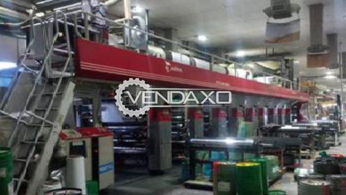 Rotomec, Italy Rotogravure Printing Machine - 1300 mm