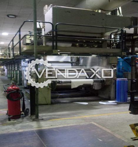 Cerutti R910 Rotogravure Printing Machine - 1100 mm, 8 Color