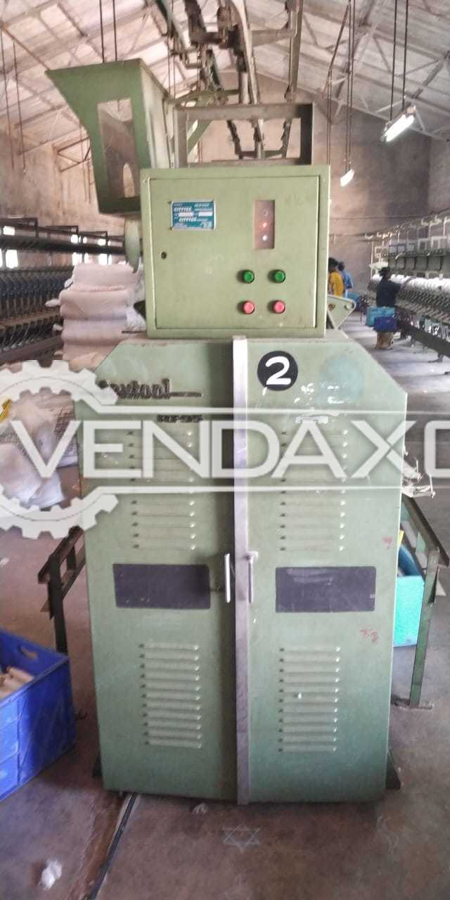 Textool RT95 Cone Winding Machine - 120 Drums