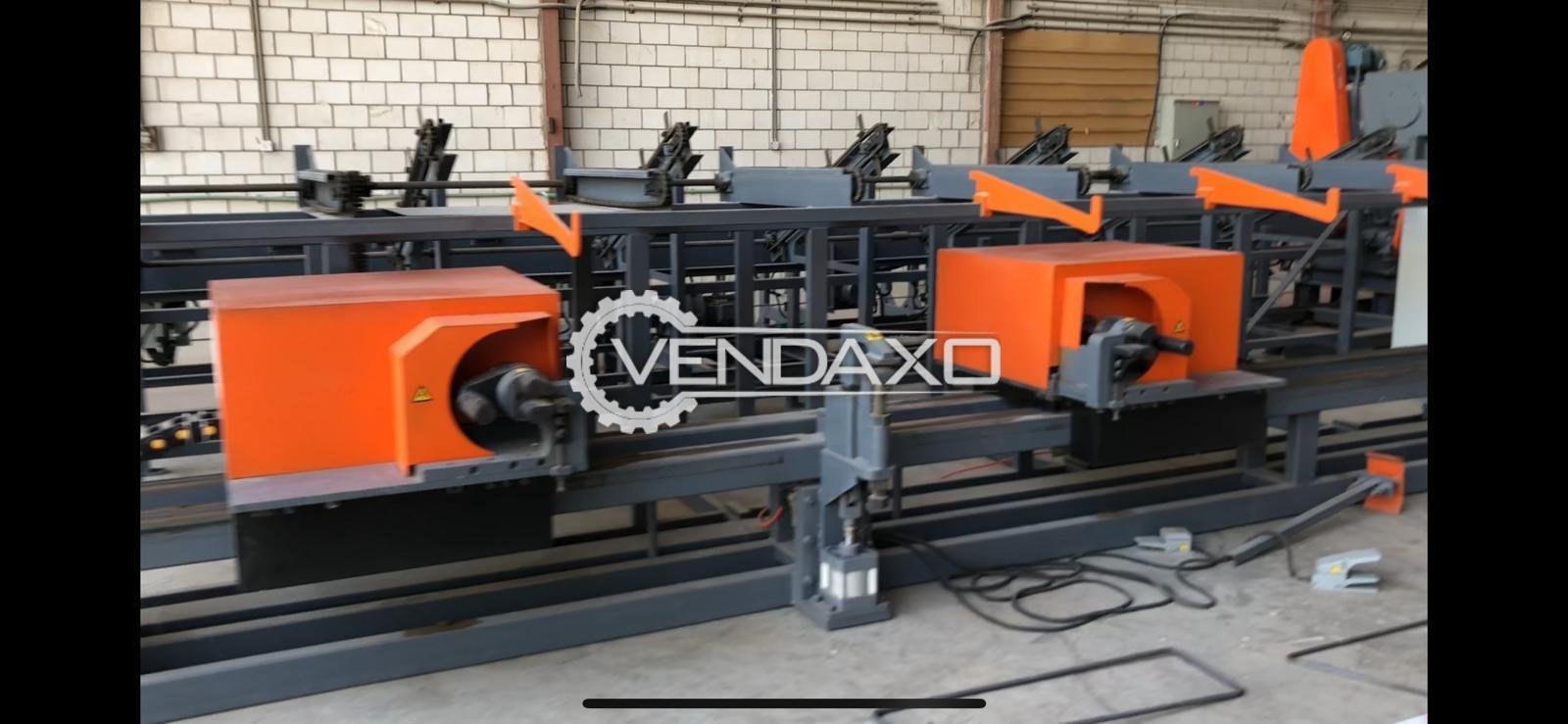 CAB Make Automatic Rebar Cut & Bend Machinery - 40 mm, 2018 Model