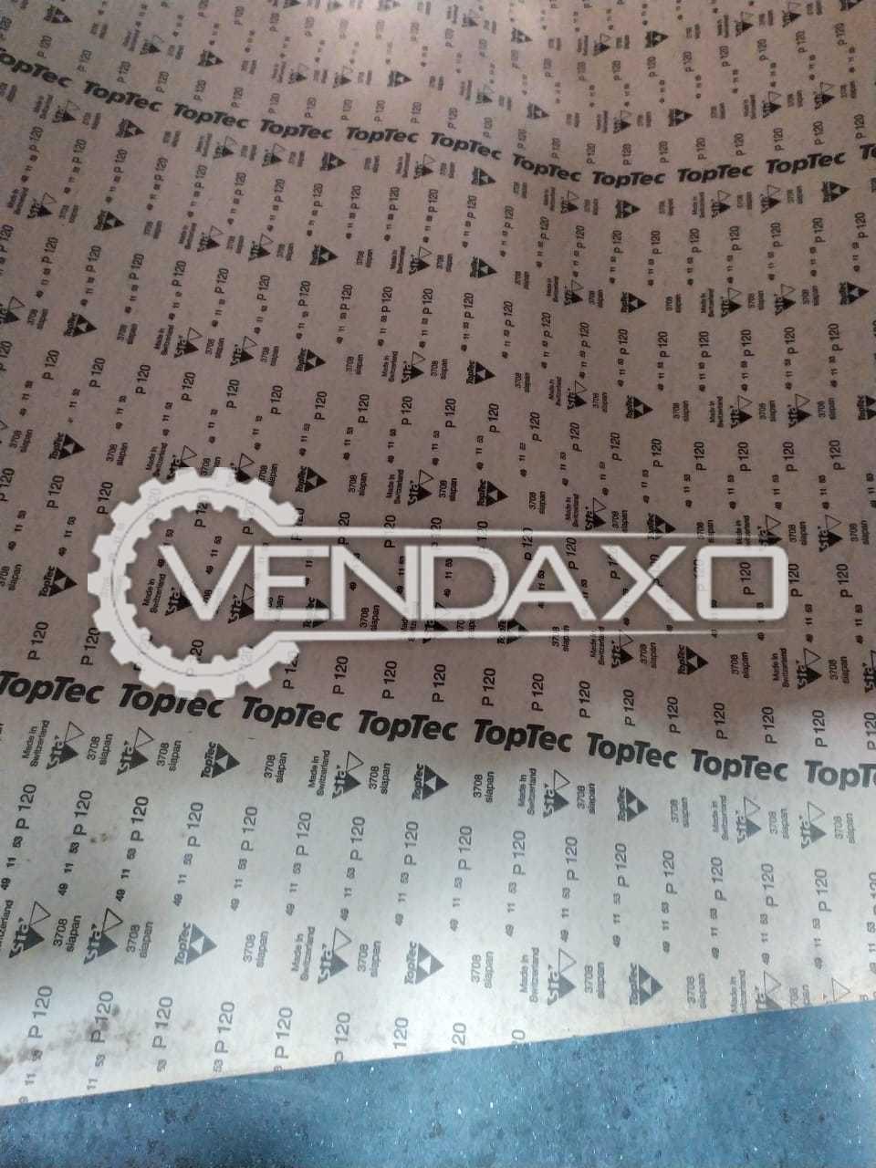 22 Set OF Abrasive Make Sanding belts - 1980 X 3320 mm